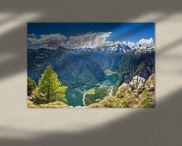 Königssee in Berchtesgaden von Dieter Meyrl