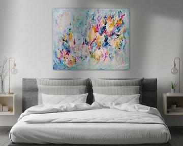 Vanilla Petals bringen Frosty Fields zum Singen - aus der Serie 'Pastel Petals'. von Qeimoy