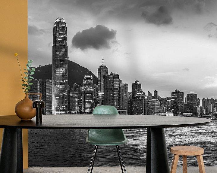 Sfeerimpressie behang: HONGKONG 37 van Tom Uhlenberg