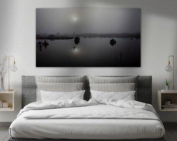 Nebliger Morgen in Vlieland. von Gerard Koster Joenje (Vlieland, Amsterdam & Lelystad in beeld)