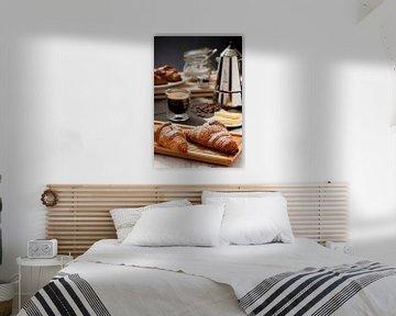 Croissants voor ontbijt van Mister Moret Photography