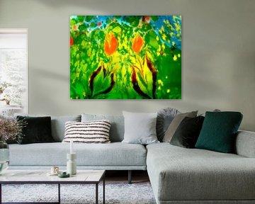 Blumenmeer VII von Maurice Dawson
