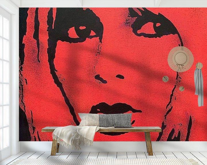 Beispiel fototapete: Brigitte Bardot - BB von Kathleen Artist Fine Art