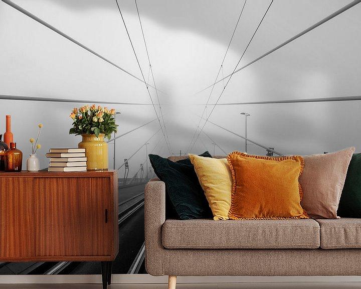 Sfeerimpressie behang: The road to nowhere .... van Nuance Beeld