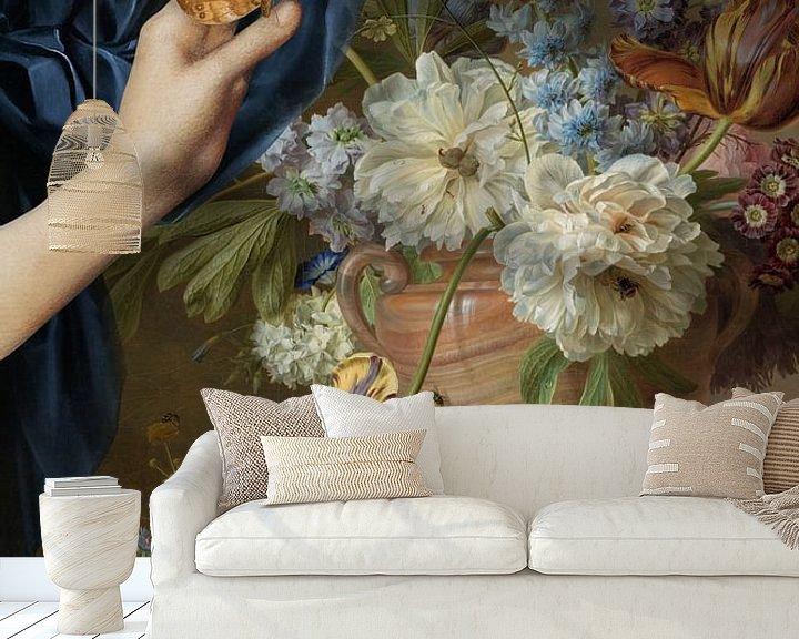 Sfeerimpressie behang: The Making of a Still Life van Marja van den Hurk