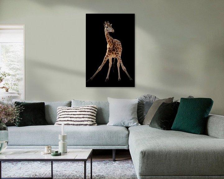 Sfeerimpressie: Giraffe gymnastiek van Marjolein van Middelkoop