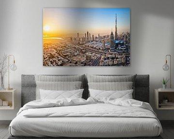 Skyline von Dubai von Dieter Meyrl
