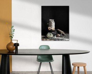 Bakken | fine art still life photography in color | print wall art von Nicole Colijn