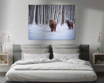 Kalte Kühe von Pascal Raymond Dorland