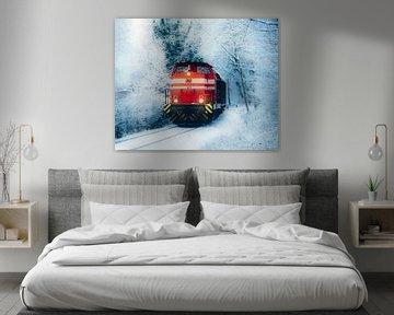Locomotive rouge