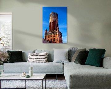 Wasserturm Lüneburg von Norbert Sülzner