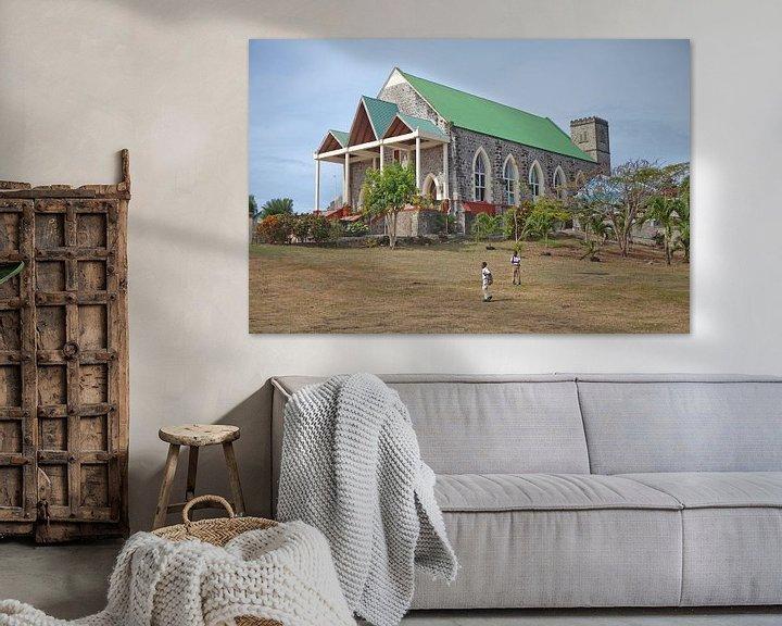 Sfeerimpressie: Grenada - Tivoli Rooms Katholieke Kerk van t.ART