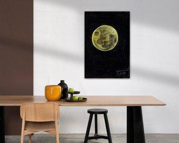 Lune d'or sur Celeste Groenewald