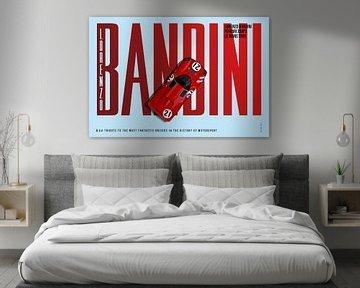 Lorenzo Bandini, Ferrari 330 Tribute von Theodor Decker