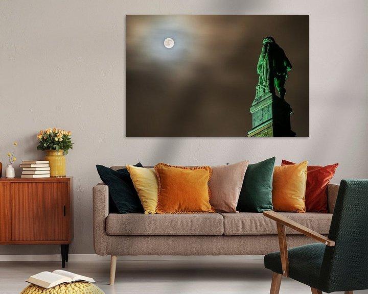 Sfeerimpressie: Kassel: Hercules bij volle maan van Stephan Zaun
