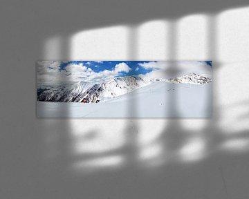 Panorama de la montagne dans le domaine skiable de Serfaus sur Dirk Rüter