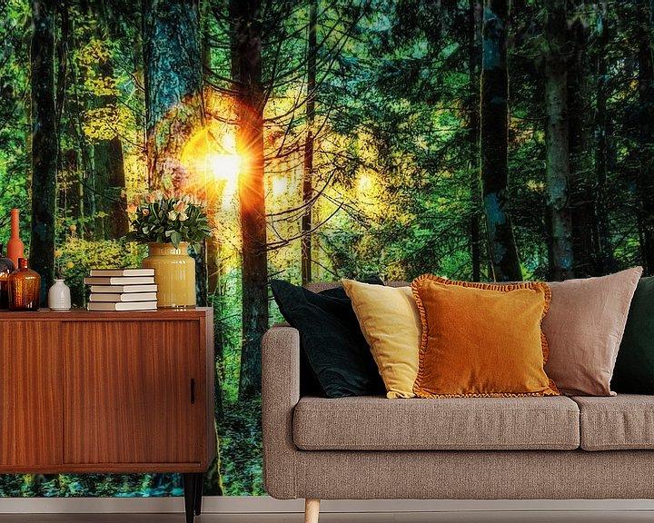 Beispiel fototapete: Sommerwald von Nicc Koch