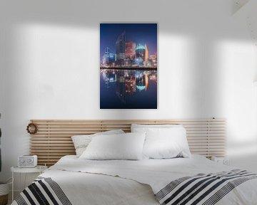 Skyline Den Haag van Vincent Fennis