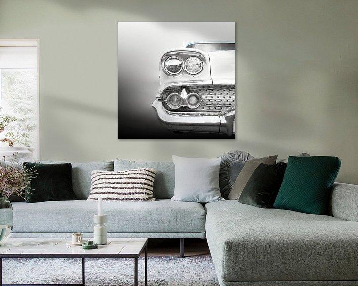 Sfeerimpressie: Amerikaanse oldtimer 1958 Bel Air van Beate Gube