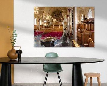 Interieur Pauluskerk Baarn von Studio Bosgra