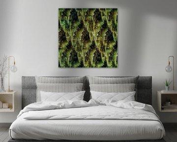 Verdwaald in het bos (en in z'n smartphone) van Ruben van Gogh