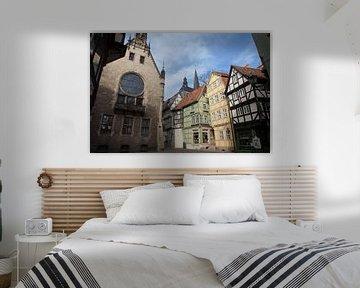 Welterbestadt Quedlinburg - Breite Straße Ecke Hoken von t.ART