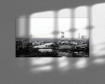 View over Moscow van VH photoart