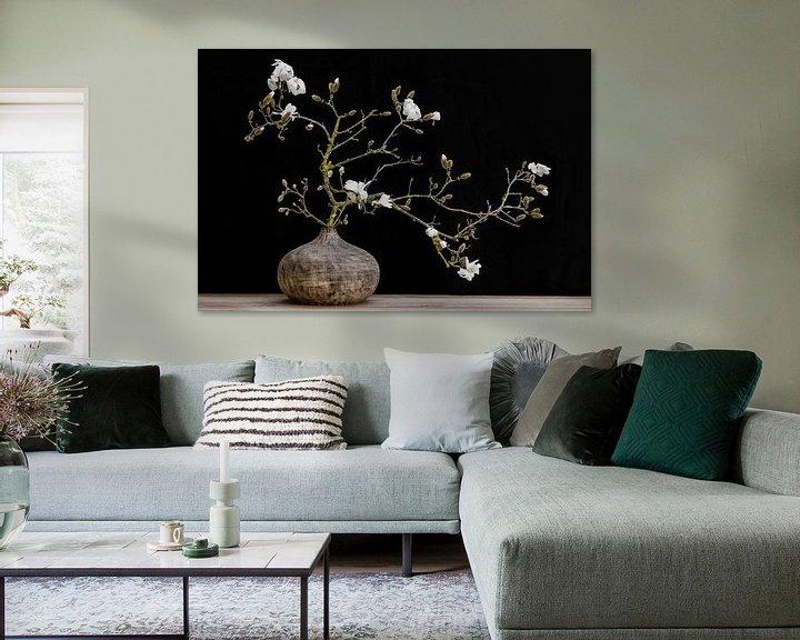 Impression: magnolia en vase sur Klaartje Majoor