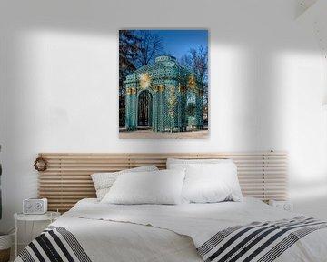 Het Sans Soucci paleis in Potsdam, Berlijn, Duitsland van WorldWidePhotoWeb