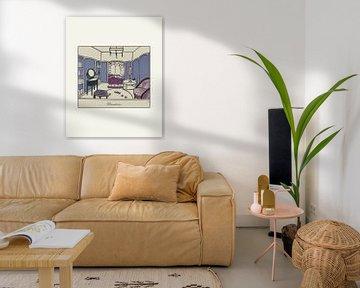 Boudoir | Historische Art Deco Advertentie van NOONY