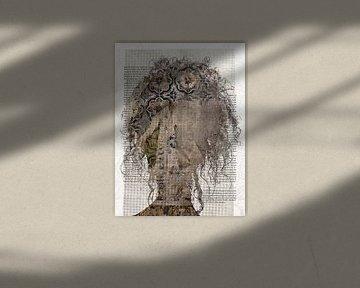 Brown curls von Gabi Hampe