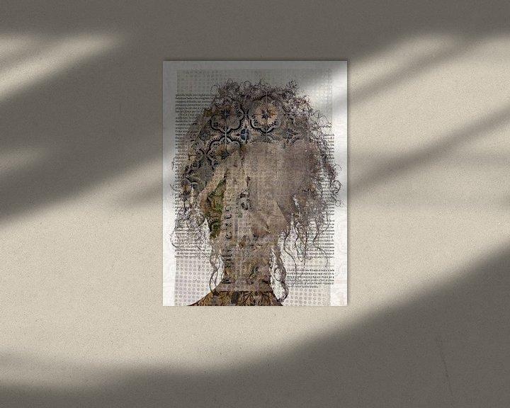 Sfeerimpressie: Bruine krullen van Gabi Hampe