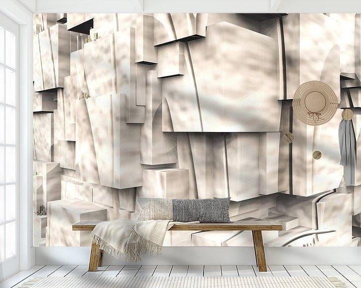 Impression: Q-Cubes 3D - Jeu d'ombre cubiste sur Max Steinwald
