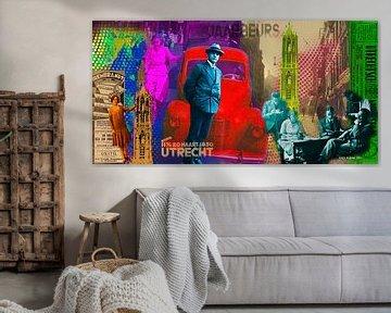 Stadt Utrecht von Nicky - digital mixed media art