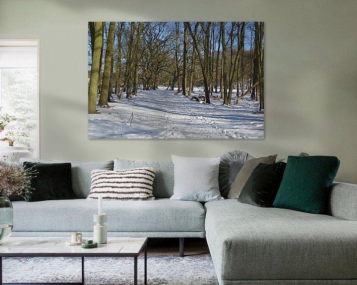 Sfeerimpressie: Sneeuw in de Amsterdamse Waterleidingduinen van JTravel