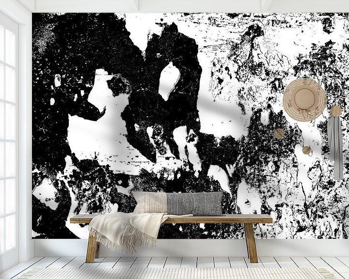 Sfeerimpressie behang: Nightly Disturbances 02 van MoArt (Maurice Heuts)
