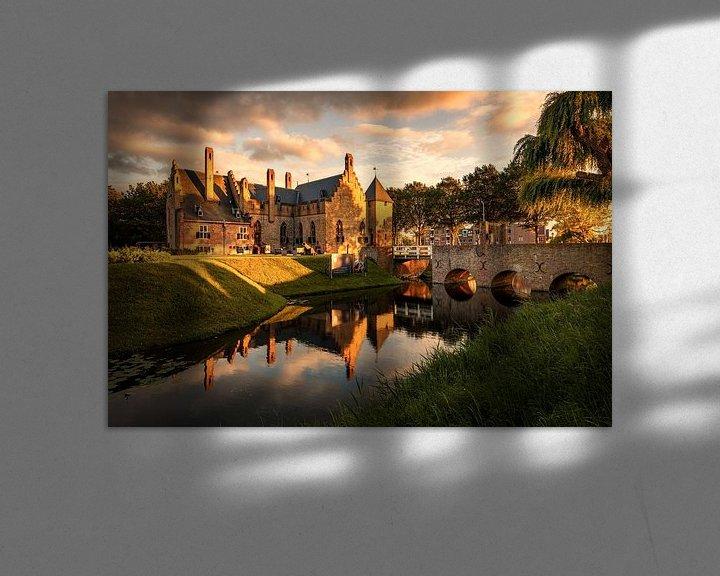 Beispiel: Schloss Radboud von Dick Portegies