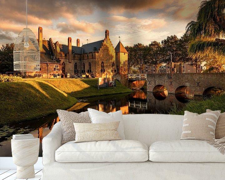 Beispiel fototapete: Schloss Radboud von Dick Portegies
