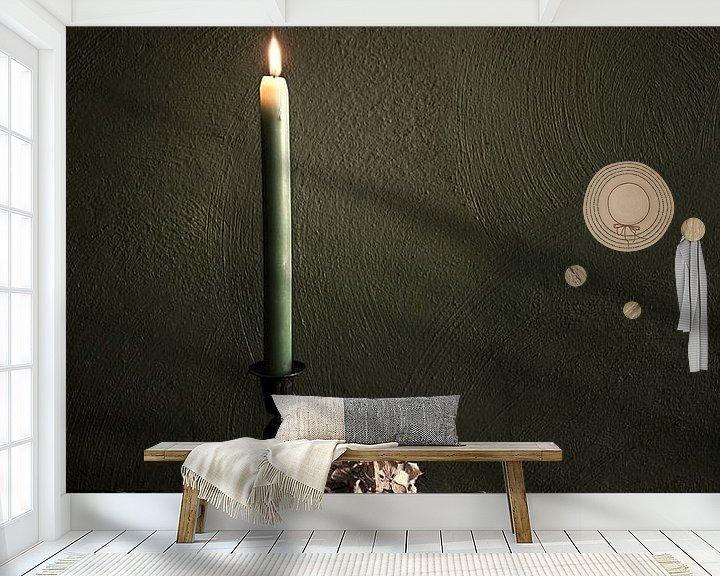 Beispiel fototapete: Stillleben mit Kerze von Ellen Gerrits