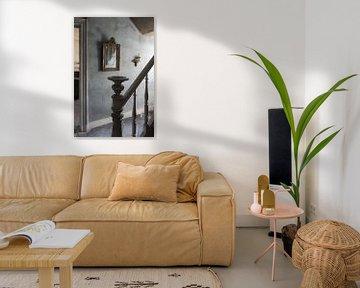 Spiegel an der Wand von Dick Carlier