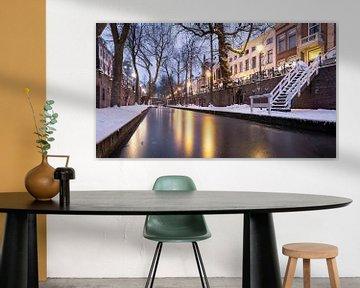 Winter aan de Utrechtse Nieuwegracht van De Utrechtse Internet Courant (DUIC)