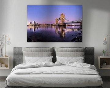 Tower Bridge à Londres sur Dieter Meyrl