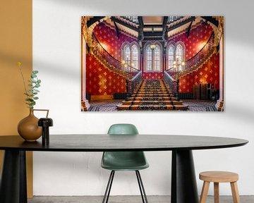 Escalier Renaissance de St. Pancras sur Dieter Meyrl