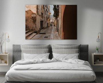 Spaziergang durch die alten Straßen von Ragusa, Sizilien Italien von Manon Visser
