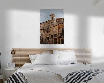 Kirche in der Altstadt von Ragusa, Sizilien Italien von Manon Visser