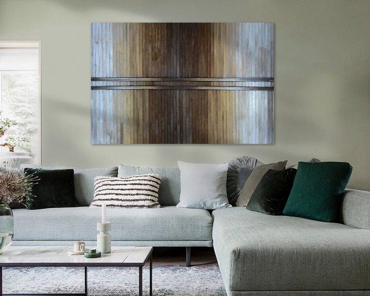 Sfeerimpressie: Abstract Plafond van Moats Design