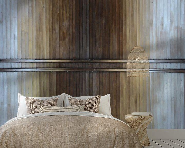 Sfeerimpressie behang: Abstract Plafond van Moats Design