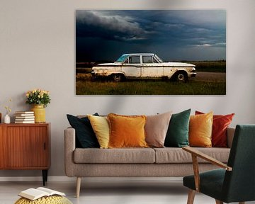 Ford Fairlane onweersbui van Comitis Photography & Retouch