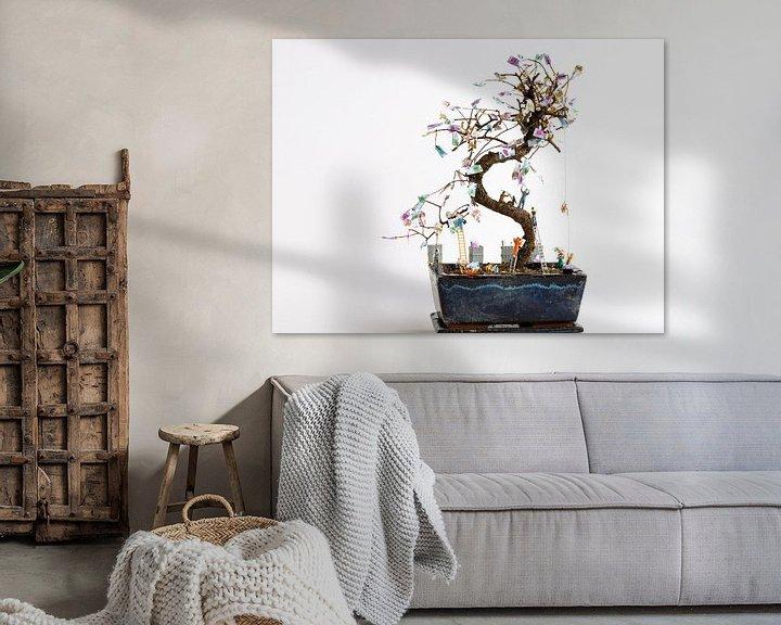 Beispiel: Geldbaum von Sandra Perquin