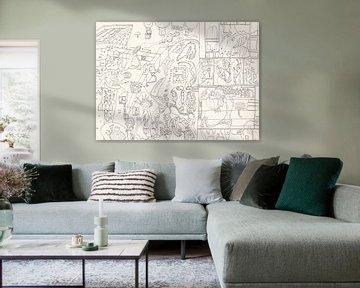 Abstrakte Landschaft von Sandro Cocco